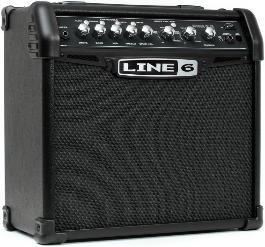 Line 6 Spider Classic 15 Modeling Amp Review