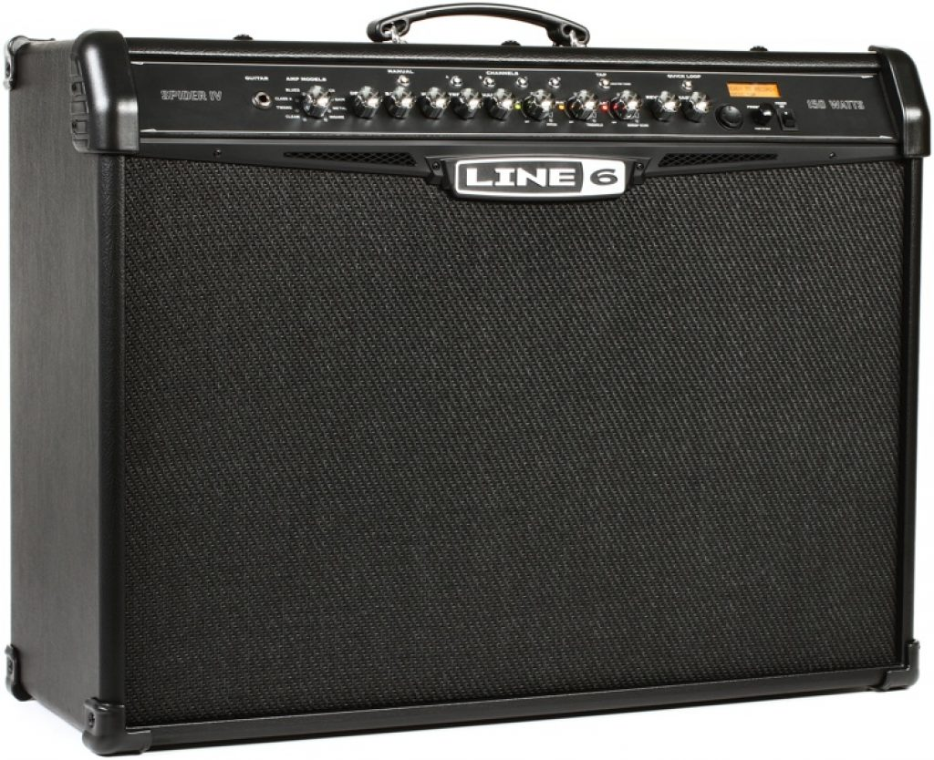 Line 6 Spider IV 150 150-watt 2x12 Modeling Guitar Amplifier Review