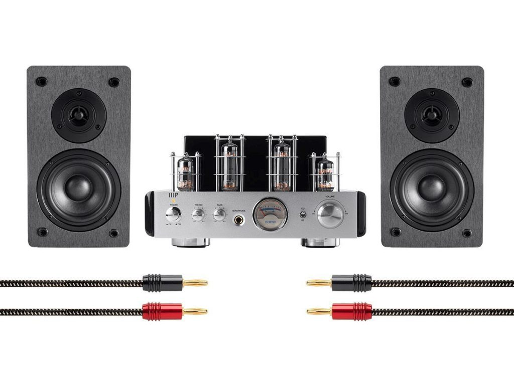 Monoprice 113807 Stereo Tube Amp System with Bluetooth & Speakers Review